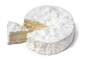 Un vrai Camembert au lait cru.Real Camembert Français.